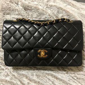 Vintage Chanel Double Flap Bag